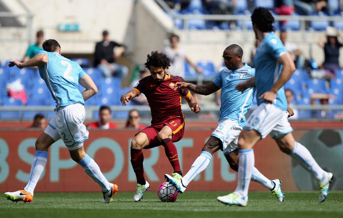 Mohamed Salah :: Mohamed Salah Ghaly :: Roma