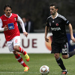 SC Braga v Besiktas Europa League 11/12