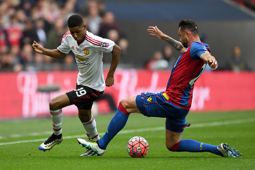 marcus rashford,jogador,damien delaney,crystal palace,equipa,manchester united,fa cup 15/16,fa cup