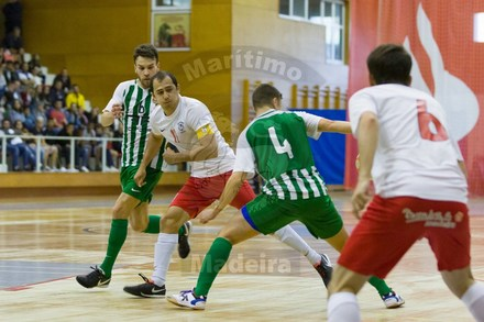 Marítimo x Rio Ave - Taça de Portugal Futsal 2018 2019 - 1 16 de Final 9e4ff5aa12205