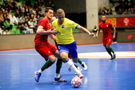 Portugal 1-6 Brasil    Amigáveis Seleções Futsal 2019    Ficha do ... a19badbc59dfb