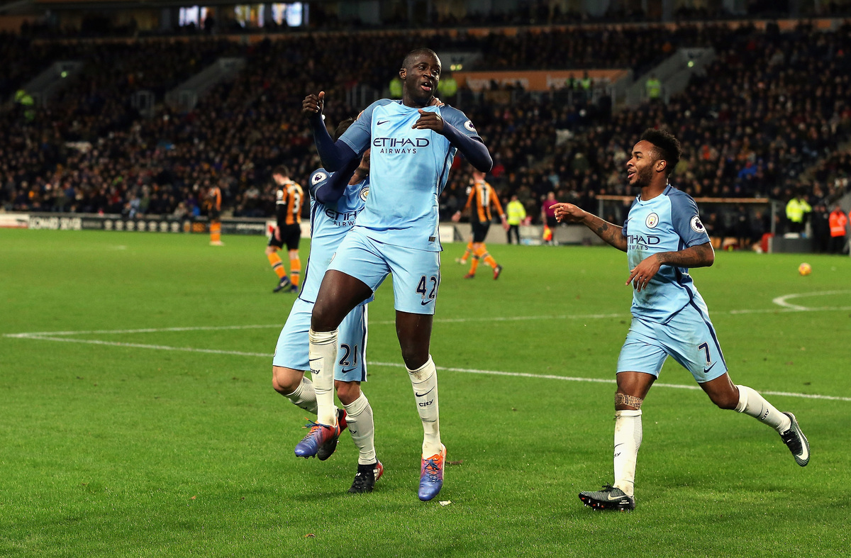 Yaya Toure, Raheem Sterling