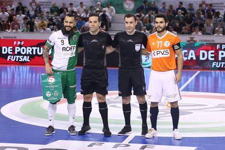 06ed109eff925 Burinhosa x Sporting - Taça de Portugal Futsal 2018 2019 - Meias-Finais