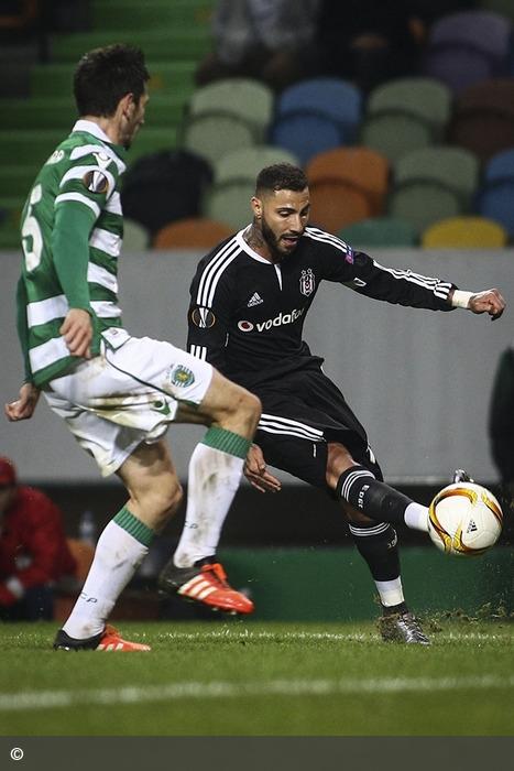 Leão ruge com força tripla para os 16 avos da Liga Europa após derrotar o Besiktas por 3-1