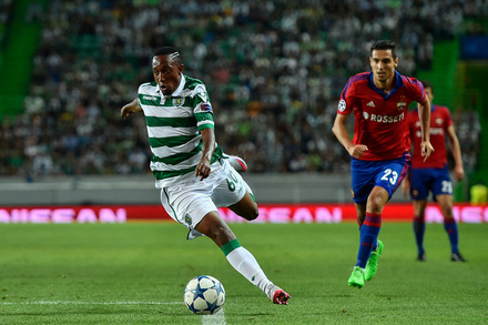 Sporting v CSKA Moskva UEFA Champions League Play-Off 2015/16