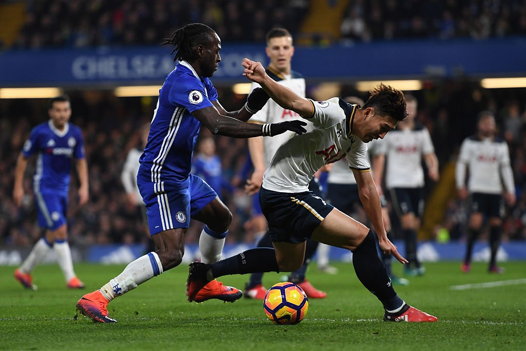Heung-Min Son, Victor Moses