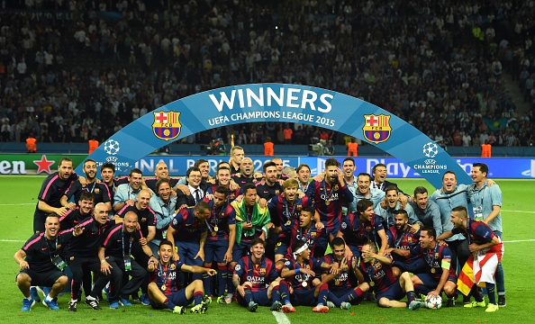 Juventus x Barcelona (Final da Champions League 2014/15)