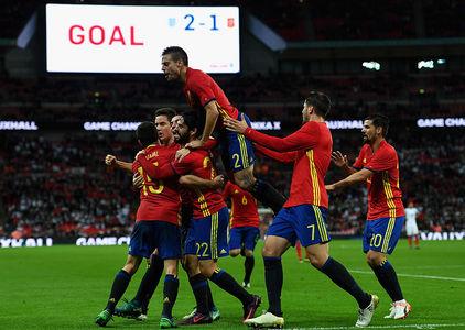 Inglaterra 2-2 Espanha    Jogos Amigáveis 2016    Ficha do Jogo ... 5775b63635cd6