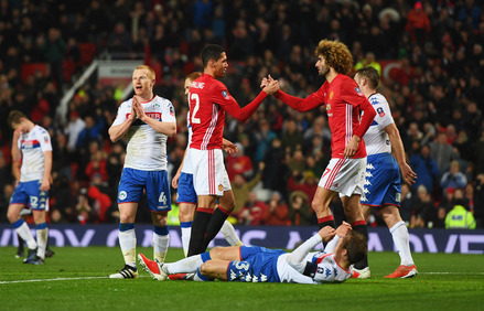 Manchester United x Wigan - FA Cup 2016/17