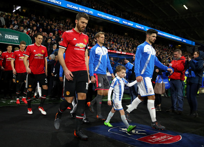 Huddersfield Town x Manchester United - The Emirates FA Cup 2017/2018 - Oitavos-de-Final