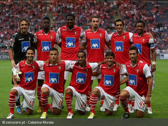 Plantel do SC Braga 2012/13