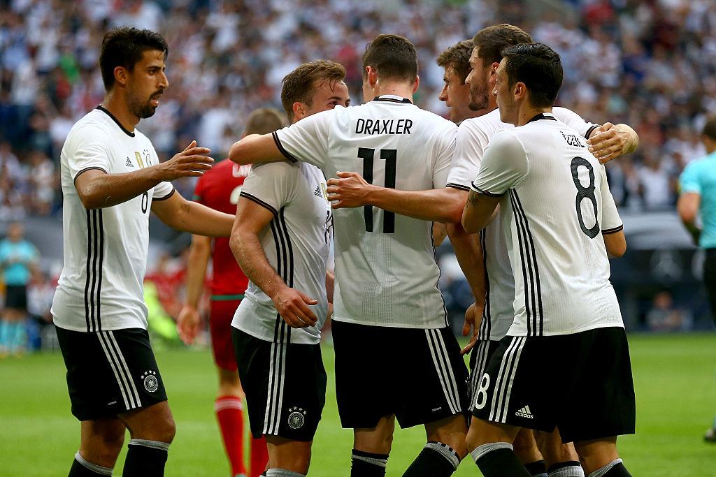 Alemanha 2-0 Hungria    Jogos Amigáveis 2016    Ficha do Jogo ... b6316f9ae075d