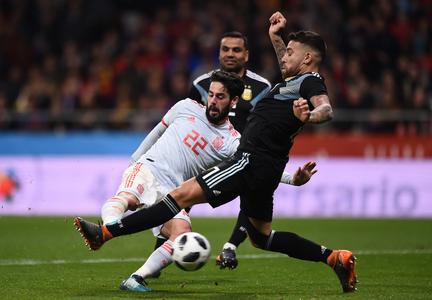 Espanha 6-1 Argentina    Jogos Amigáveis 2018    Ficha do Jogo ... 001768085fb1d