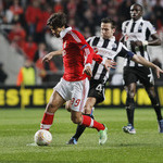 Benfica v Newcastle UEFA Europa League 2012/13 QF 1� M�o