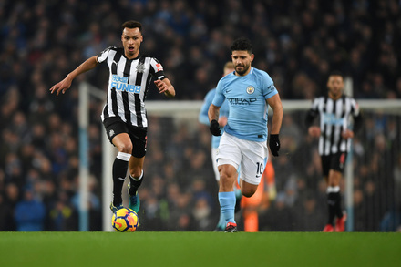 Manchester City x Newcastle - Premier League 2017/2018 - Campeonato Jornada 24