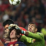 Benfica v Barcelona Champions League 2012/13