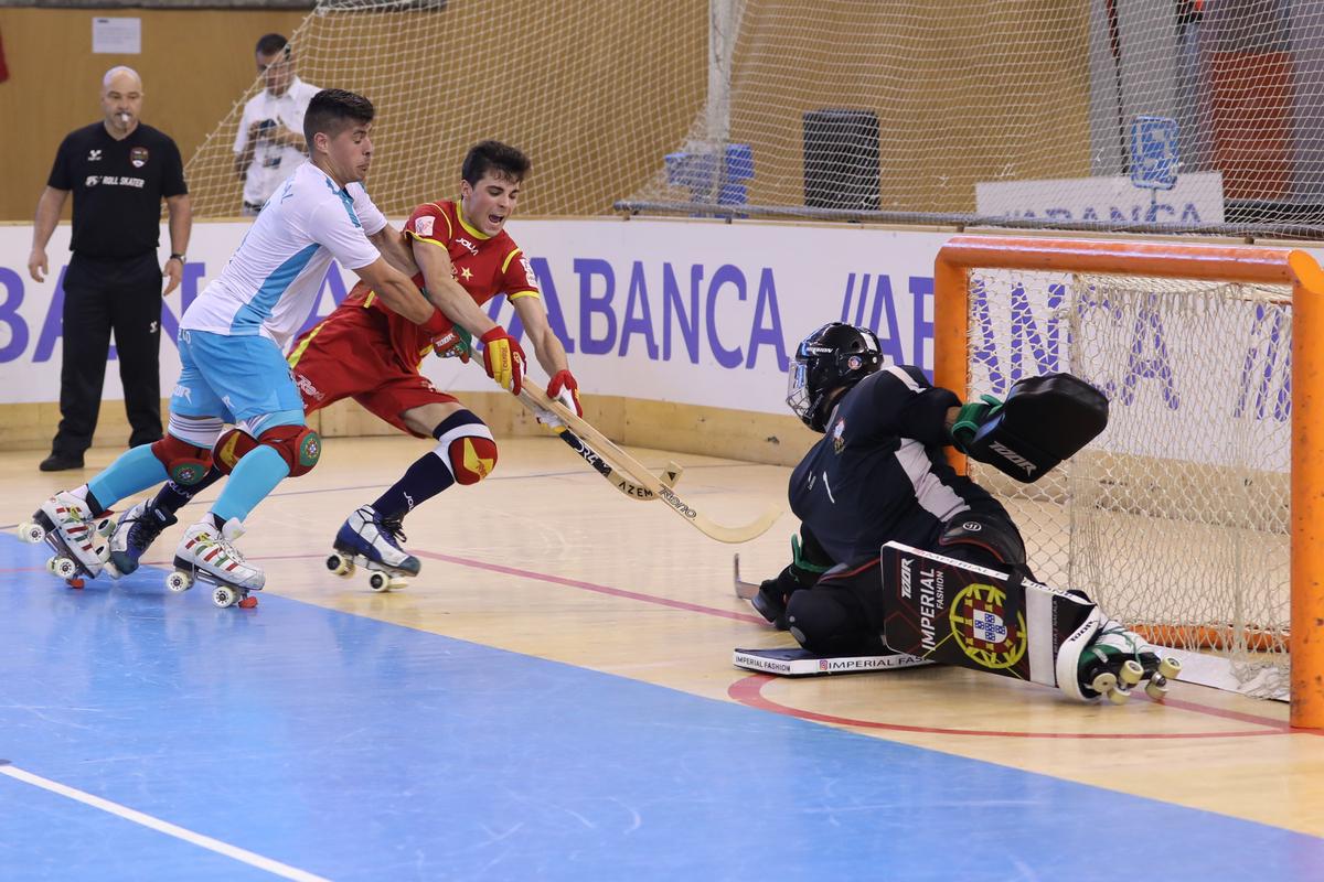 Espanha aproveitou erros defensivos portugueses ©António Lopes 54011aca6ed83