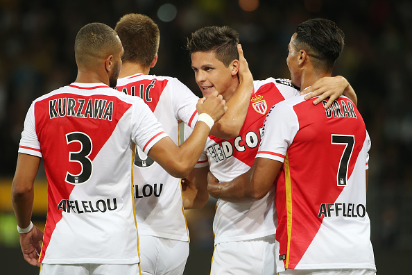 Layvin Kurzawa, Guido Carrillo, Monaco