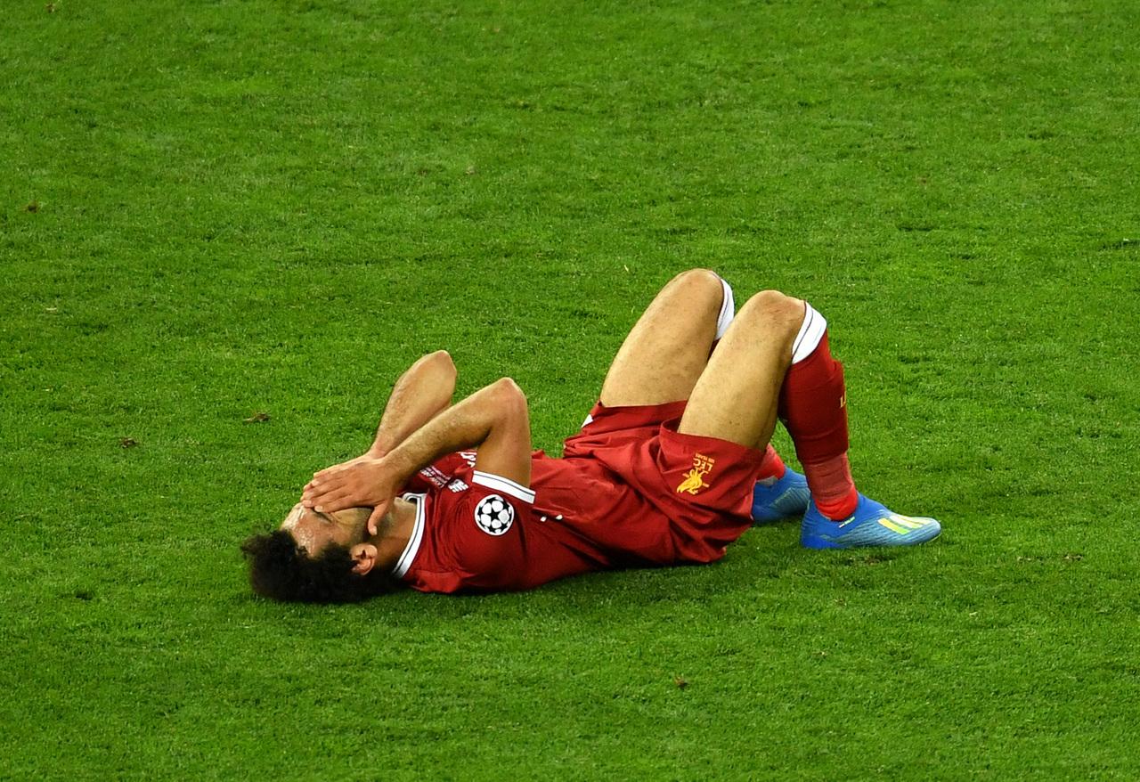 e0af9500d1 Salah lesionou-se e não conteve as lágrimas ©Getty Images