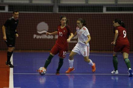Portugal 0-1 Espanha    Amigáveis Seleções Futsal 2018    Ficha do ... 5326fce489eb0