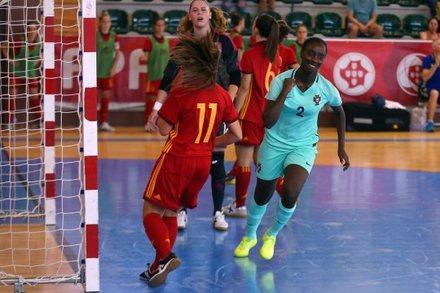 Portugal 2-1 Espanha    Amigáveis Seleções Futsal 2018    Ficha do ... 7033341613021