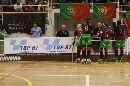 Portugal 2-4 Espanha    Europeu Feminino 2018 - Hóquei em Patins ... 2a366ea51a6a0