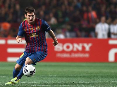 Messi  «Nunca sonhei ser o melhor marcador da história do Barcelona ... 079e6ed3f4010