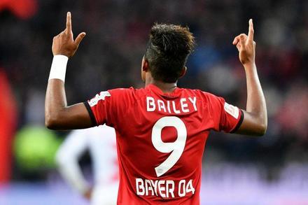 Leon Bailey Leon Bailey Butler Bayer Leverkusen