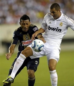 Philadelphia Union 1-2 Real Madrid