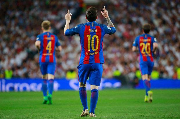 Real Madrid 2-3 Barcelona    Liga Espanhola 2016 17    Ficha do Jogo     zerozero.pt 746f7c9b13602