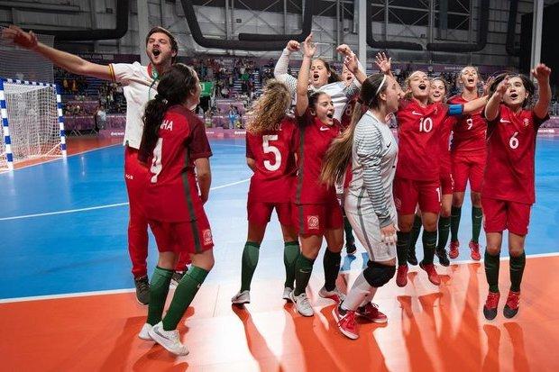 Federação Portuguesa de Futebol - Futsal Feminino S19 ... 35f0f9681834a