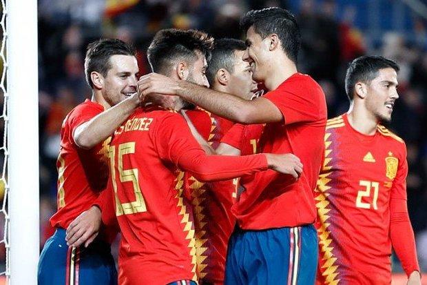 Espanha 1-0 Bósnia e Herzegovina    Jogos Amigáveis 2018    Ficha do Jogo     zerozero.pt 56848e581f55b