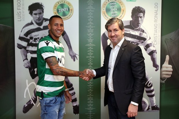 Sporting oficializa reforço Marco Túlio