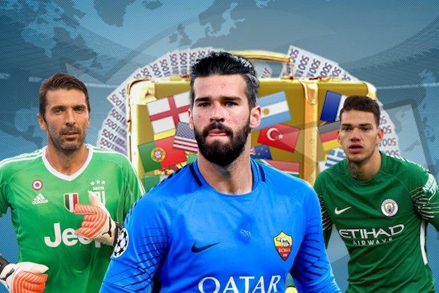 530124a594 Alisson mudou-se de Roma para Liverpool e a viagem foi a mais cara da  história no mundo do futebol