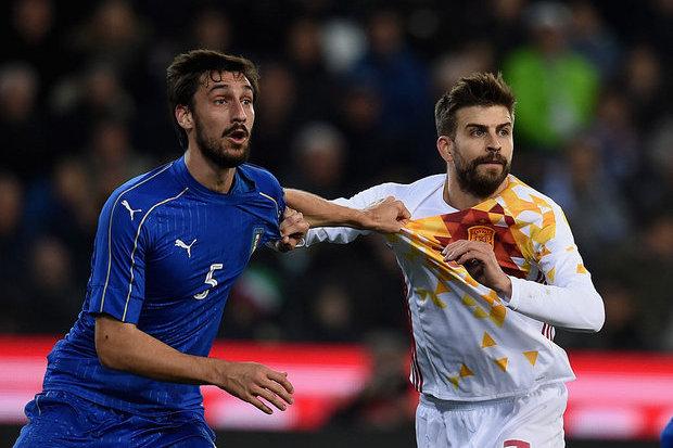 Seleção italiana vai prestar homenagem a Astori
