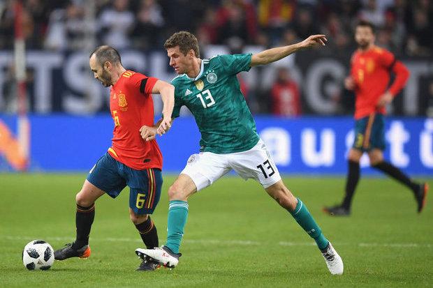 Alemanha 1-1 Espanha    Jogos Amigáveis 2018    Ficha do Jogo    zerozero.pt 5e8d6fba15b9a