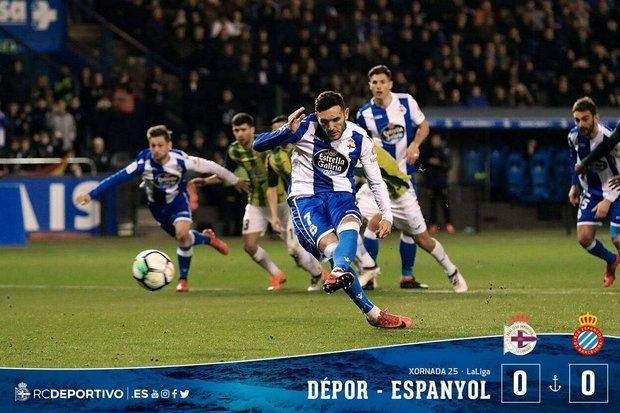 Veja o retrospecto de La Coruña e Espanyol