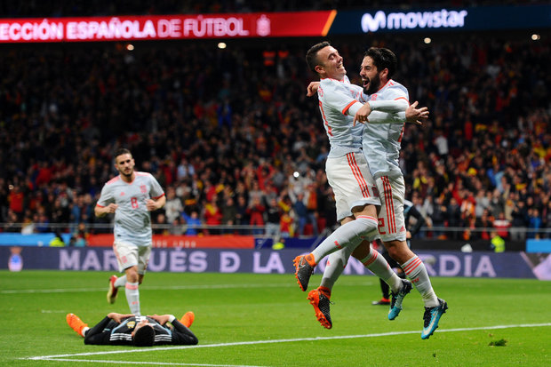 Espanha 6-1 Argentina    Jogos Amigáveis 2018    Ficha do Jogo     zerozero.pt 223f636f9873c