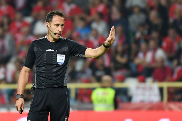Artur Soares Dias é o árbitro do SC Braga-SL Benfica
