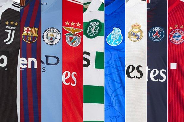 Veja os novos trajes dos principais clubes europeus    zerozero.pt 103e87d276383