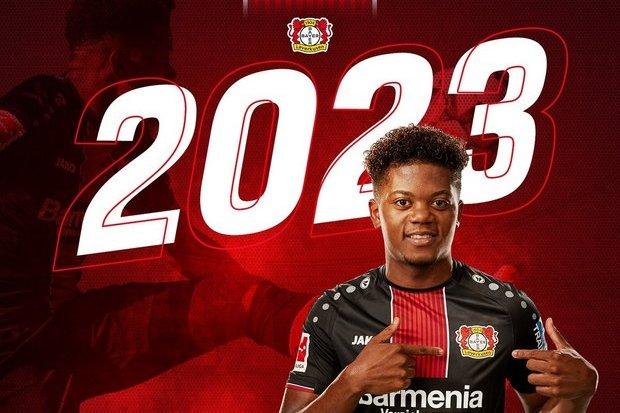 46a96da40d O Leverkusen anunciou este domingo a renovação contratual do extremo Leon  Bailey