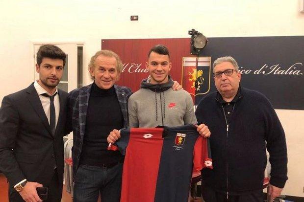 Mercado: Pedro Pereira vai ser jogador do Génova