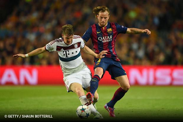 Bayern Munchen e Barcelona encontram-se pela segunda vez no espaço de uma  semana para definirem entre eles o primeiro finalista da presente edição da  Liga ... 7c554a0a7f09f