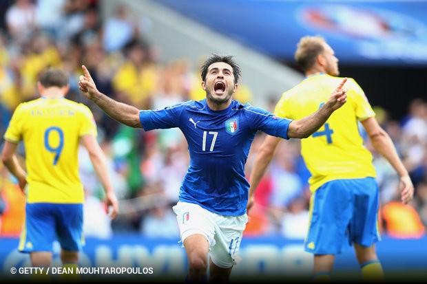 A Itália derrotou a Suécia por uma bola a zero 1143a0285b165