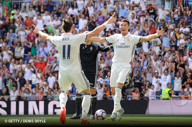 O Real Madrid goleou tranquilamente o Osasuna e conseguiu mais uma vitória  no campeonato 1b956ea80178d