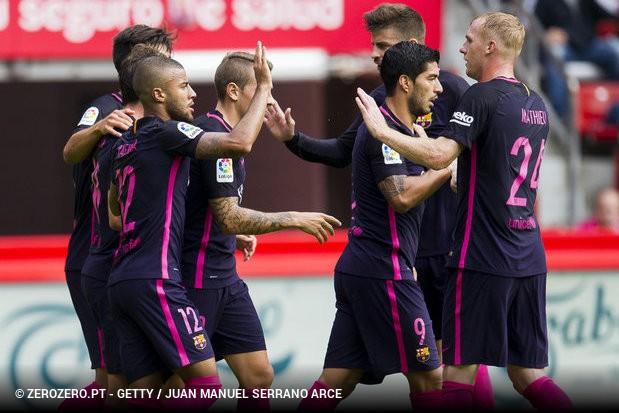 O Barcelona está de regresso às vitórias. Depois de um empate frente ao  Atlético Madrid 4f09f91310b32
