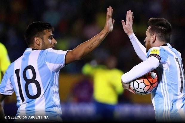 Não foi fácil mas a Argentina está no Mundial 2018. Depois de uma fase de  apuramento suada a seleção albiceleste deslocou-se ao Equador e 3b73d7df6e760