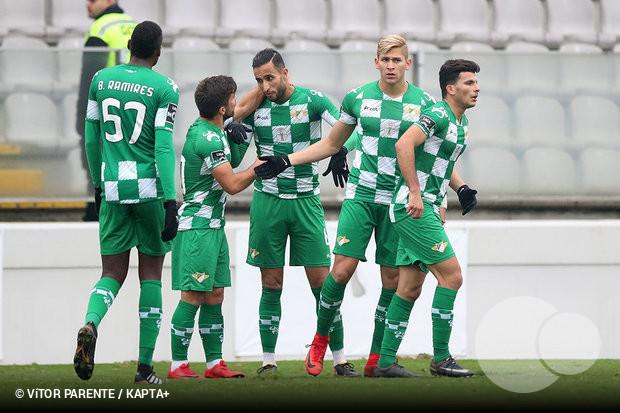 11ceba3ca2 O Moreirense teve de sofrer muito para garantir o passaporte para os  quartos de final da Taça de Portugal. A equipa de Sérgio Vieira sofreu  alguns ...