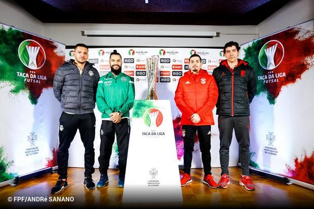 As meias-finais da Taça da Liga de Futsal estão aí à porta e os capitães  das quatro equipas em prova falaram 12b0630a59ede