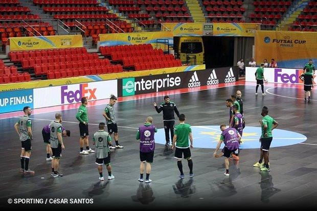 O Sporting já conhece o palco de todas as decisões no próximo fim de  semana. O Pabellón Principe Felipe ee2643b065bd8